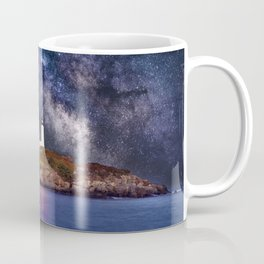 Lighthouse under the Stars Coffee Mug