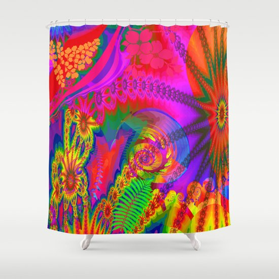 Summer Joy Shower Curtain