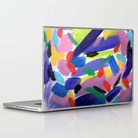 glee Laptop & iPad Skins featuring Glee by Ink and Paint Studio