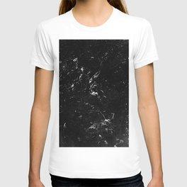 Black Marble #4 #decor #art #society6 T-shirt