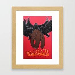 Rise Above Framed Art Print