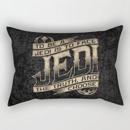 To Be A Jedi Rectangular Pillow