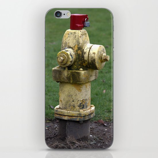 Fire Hydrant iPhone & iPod Skin