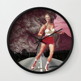 Run!Skate! Wall Clock