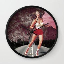 Run!Skate! Wall Clock