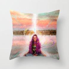 vibratiOhms Throw Pillow