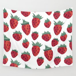 Strawberry Cheesecake Wall Tapestry