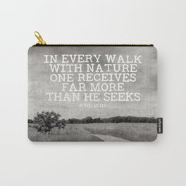 Walk With Nature Carry-All Pouch