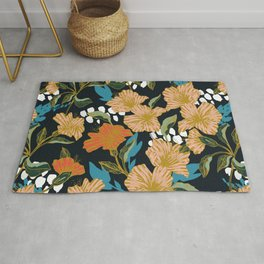 Flowering sweet bloom 03 Rug