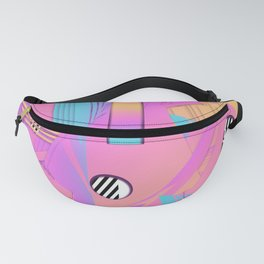 Synthetic Sunset 33 Fanny Pack