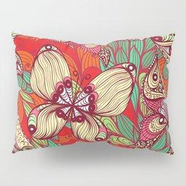Hand Drawn Butterfly Pattern 02 Pillow Sham