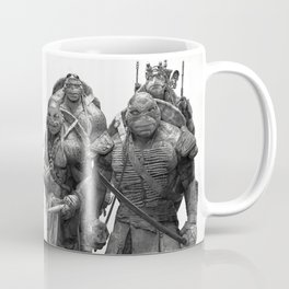 Green Teenage Heroes Coffee Mug