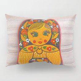 Russian doll Pillow Sham