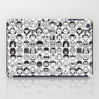 movies iPad Cases featuring We love movies by Pinfloi
