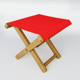 (Red) Folding Stool
