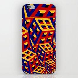 Cubic pattern iPhone Skin