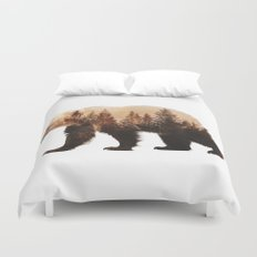 Brown Bear Duvet Cover