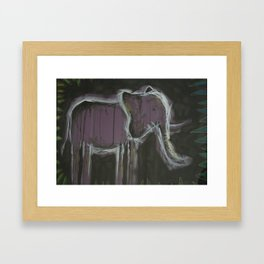 detrimental tension Framed Art Print