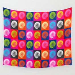 Dandelion Pop Wall Tapestry