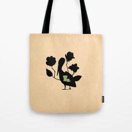 Louisiana - State Papercut Print Tote Bag