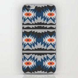 Wintry ethnic pattern iPhone Skin