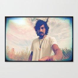 y te vuela el pelo y te quiero Canvas Print