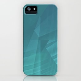 Mystical Blue iPhone Case