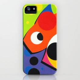 Fish - Paint iPhone Case