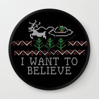 i want to believe Wall Clocks featuring I Want to Believe by Jessa