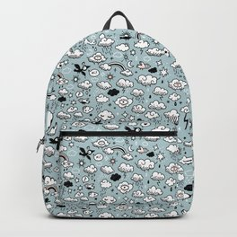 Autumn Skies Pattern Backpack
