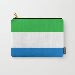Sierra Leone Flag Carry-All Pouch