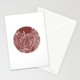 Static Movement  Stationery Cards