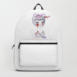 Cupcake Figure Backpack