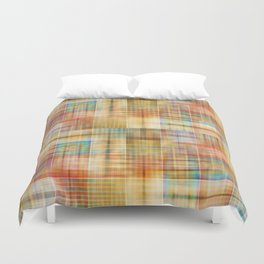 Multicolored patchwork mosaic pattern Duvet Cover