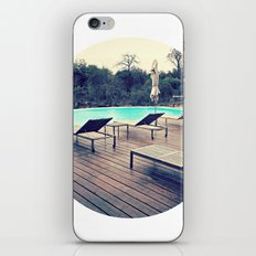 poolside iPhone & iPod Skin