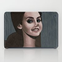 ultraviolence iPad Cases featuring LDR  by MYLÈNE BRAGINA