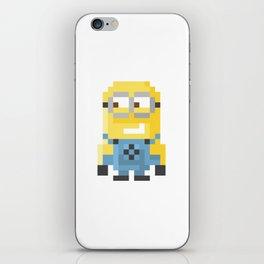 8bit Minion (Bob) iPhone Skin