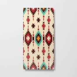 American Native Pattern No. 110 Metal Print