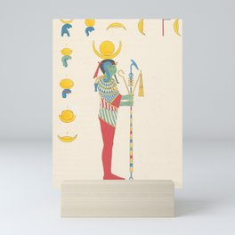 Lunus the moon god, Selene Mini Art Print