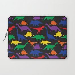 Dinosaurs - Black Laptop Sleeve