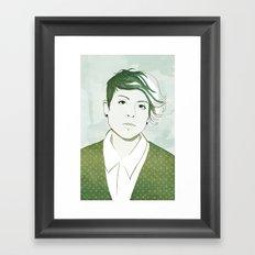 Tegan Framed Art Print