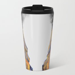 Volcano lady Travel Mug
