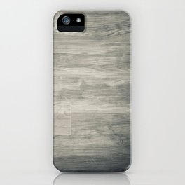 noir wood iPhone Case