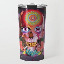 SKULL/COLOR Travel Mug