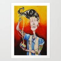 Blind Date Art Print