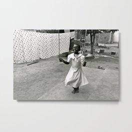 African Jump Rope  Metal Print