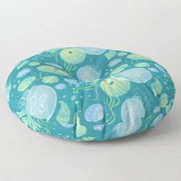 Ocean life Floor Pillow