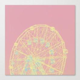 Wonder Wheel Canvas Print