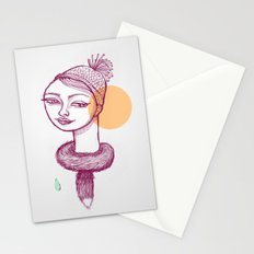 Winter is coming Stationery Cards