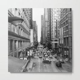 Chicago Street Metal Print